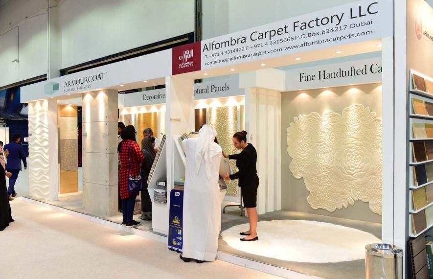 Alfombra Carpets at Index  DXB 2017