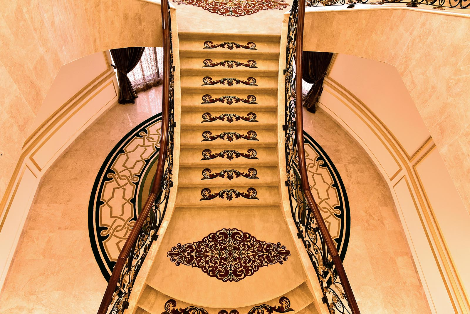 high end staircase